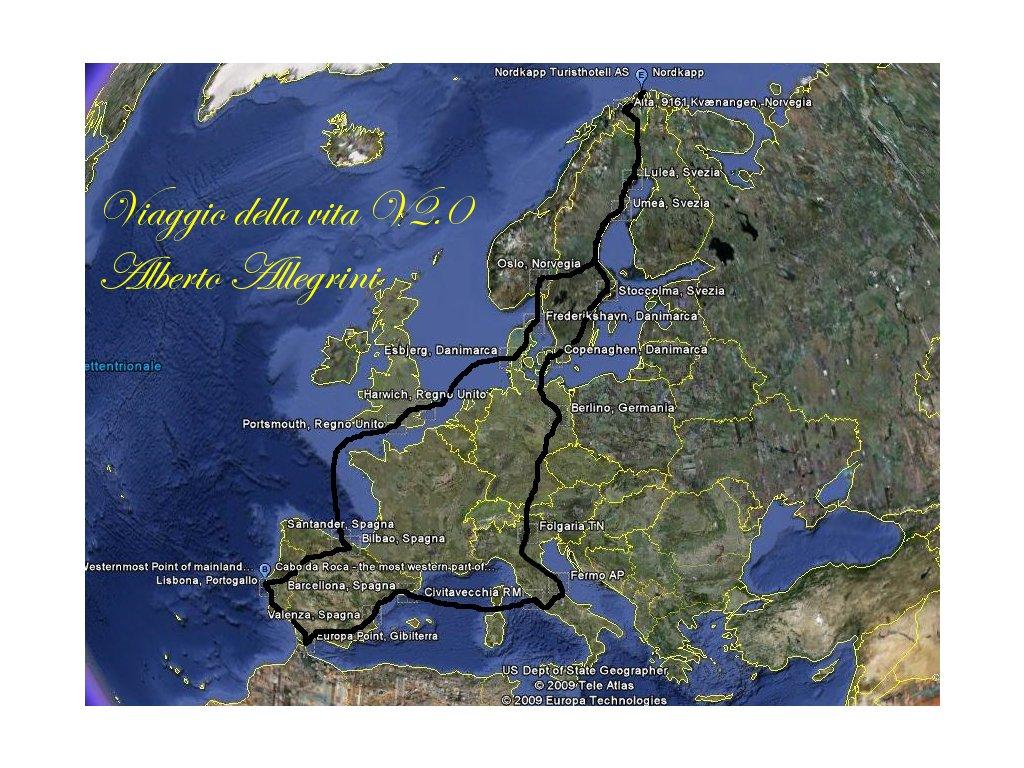 Giro Europa viaggio della vita v2