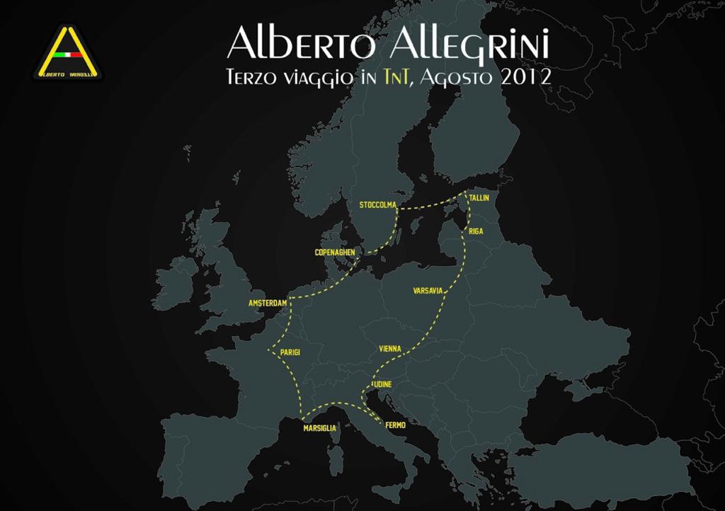 mappa con tragitto_Cartolina E-meil